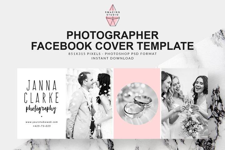 Photographer Facebook Cover Template - FBC011