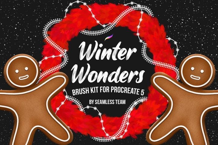 Winter Wonders Brush Kit for Procreate 5