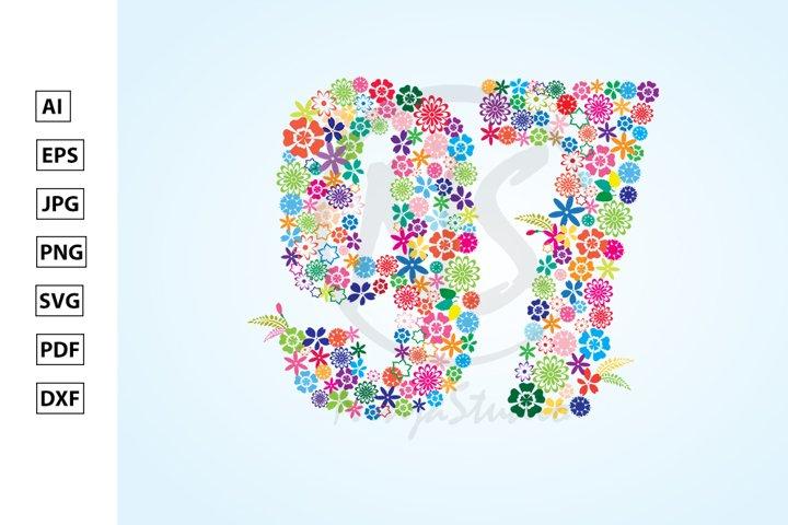Floral Number Ninety Seven