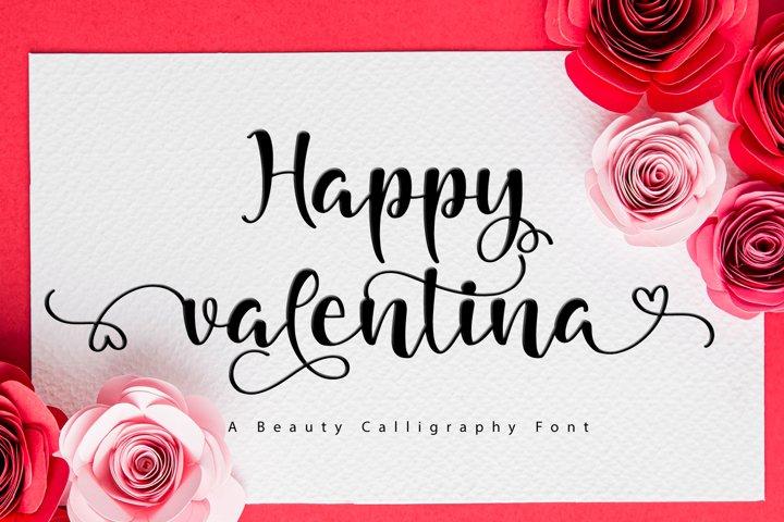 happy valentina
