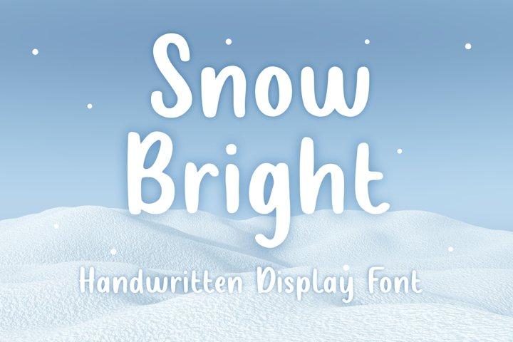 Snow Bright Font