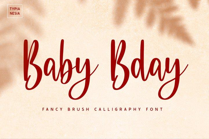 Baby Bday