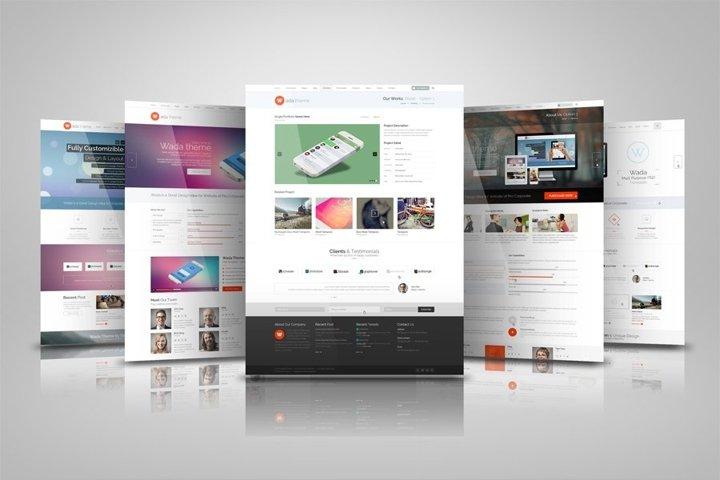 Web Presentation Mock Ups