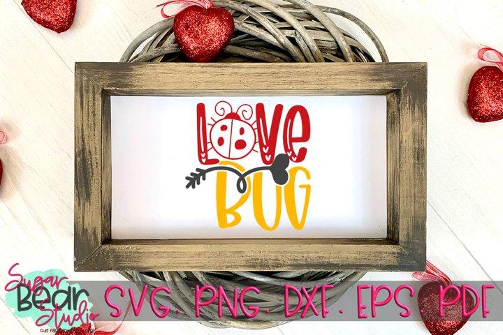 Love Bug - A Valentine SVG