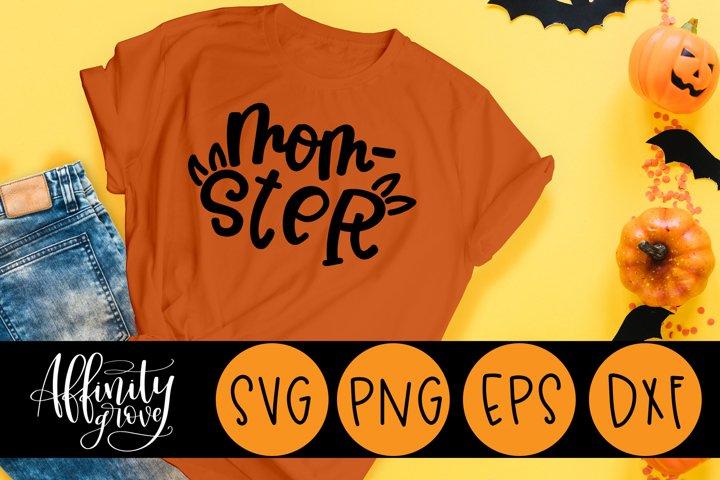 Mom-Ster SVG Cut File for Cricut