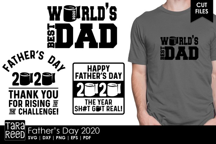 Fathers Day 2020 - Family SVG and Cut Files