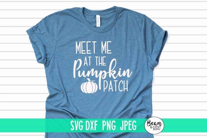Meet me at the Pumpkin Patch