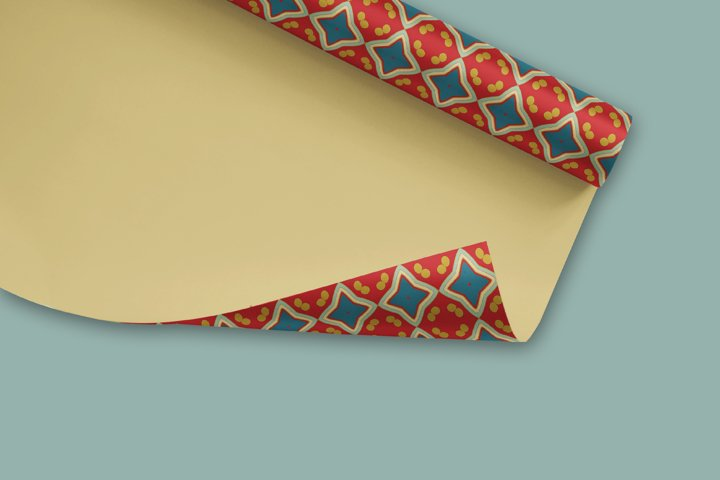 38 Arabesque Papers JPG & 20 Seamless Tiles PS Patterns PAT example 5