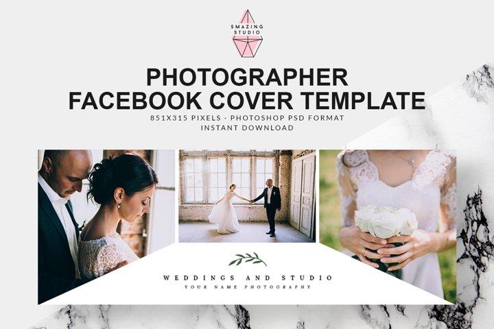 Photographer Facebook Cover Template - FBC005