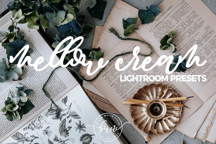 Mellow Cream Desktop Lightroom Preset Bundle