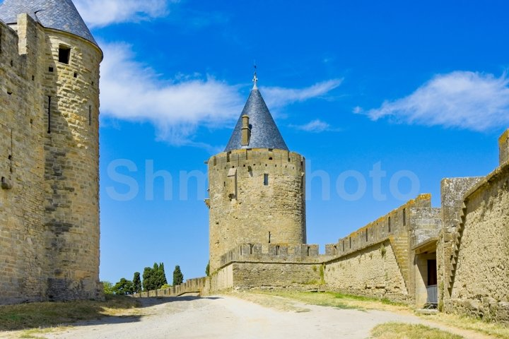 Fortress Carcassonne, Languedoc, France
