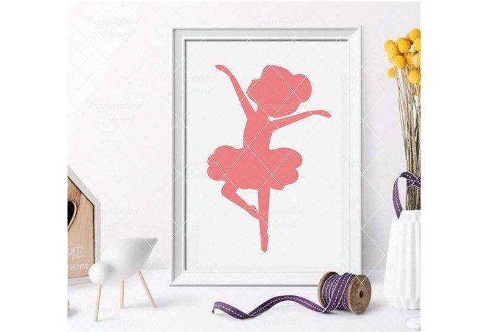 Ballerina Svg Little Ballerina Svg Ballerina Cut File 370972 Svgs Design Bundles