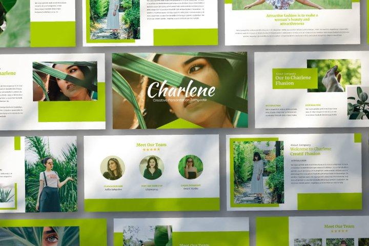 Charlene - Creative Googleslides Template