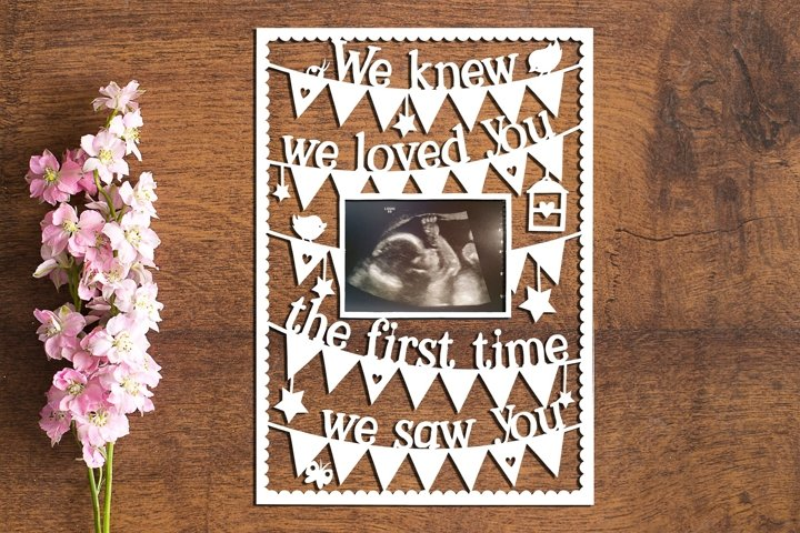 Loved You - Set of 2 PDF Templates for Paper Cutting by hand