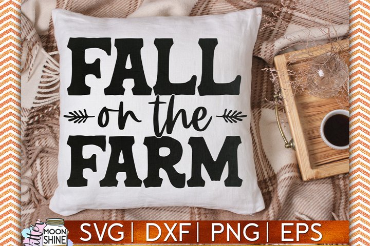 Fall On The Farm SVG DXF PNG EPS