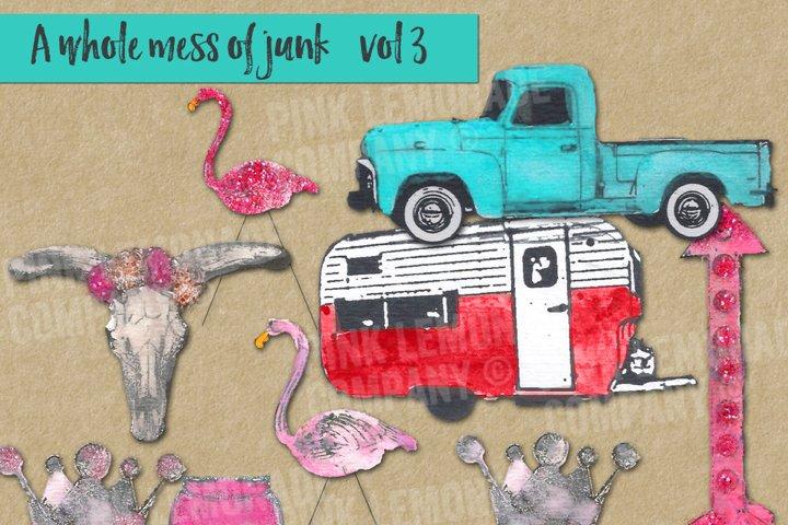 Junk Lovin Clip Art Kit Volume 3