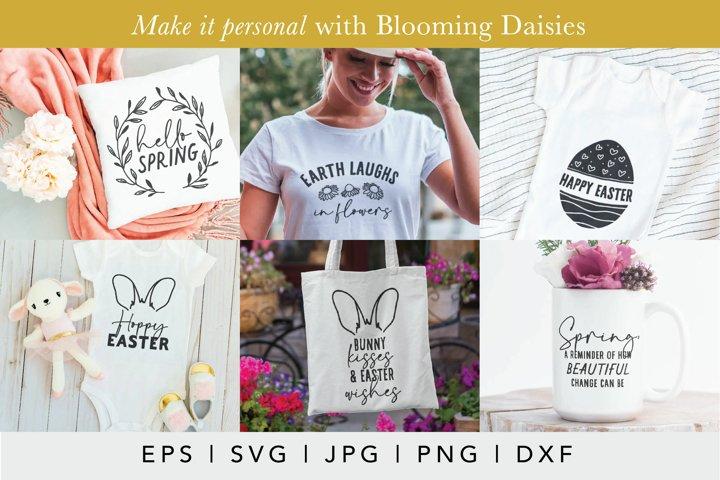Easter SVG Design Bundle | Spring SVG | Easter Egg SVG