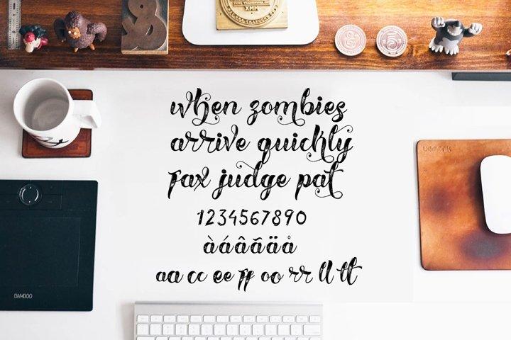 HELLVINA SCRIPT - Free Font of The Week Design3