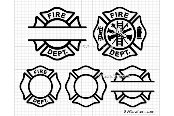 Fire dept svg, Firefighter svg, Fireman svg, Fire department