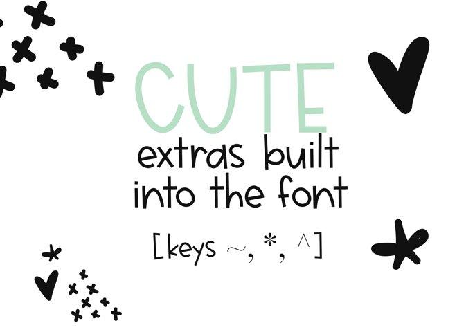 Jellyfish - A Fun Handwritten Font - Free Font of The Week Design4