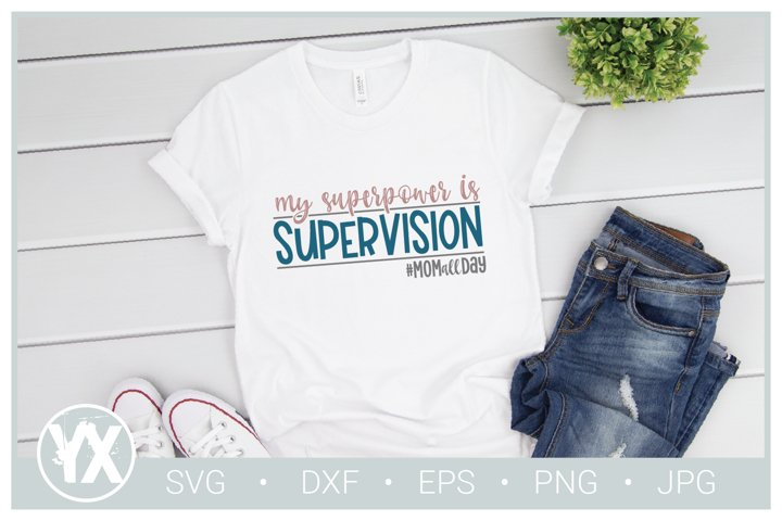 My Superpower is Supervision SVG example 1