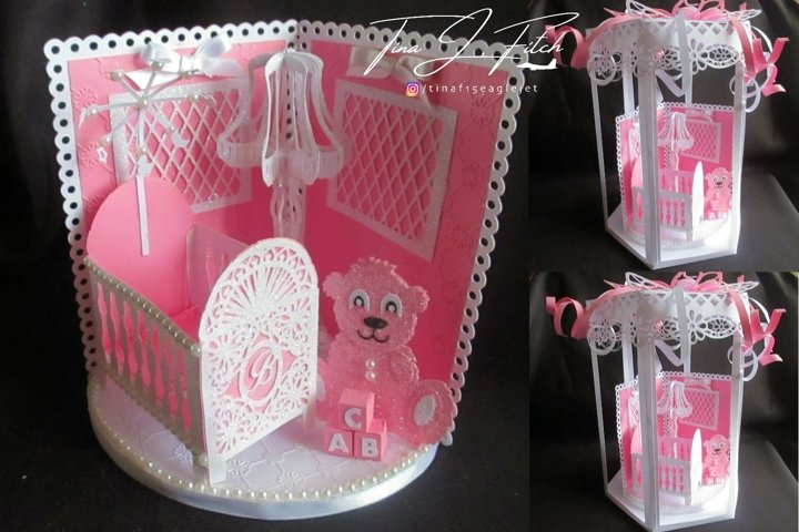 Baby Room & Box Template Cutting Files SVG