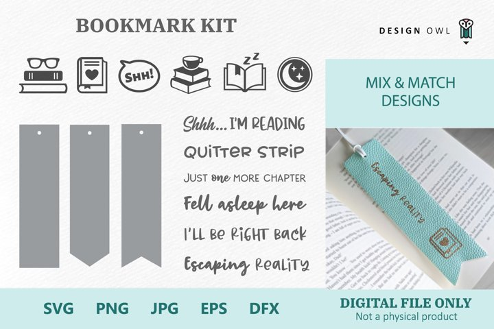 Bookmark Kit - SVG files