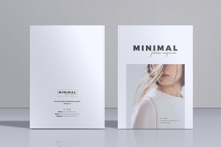 MINIMAL Lookbook Magazines Fashion