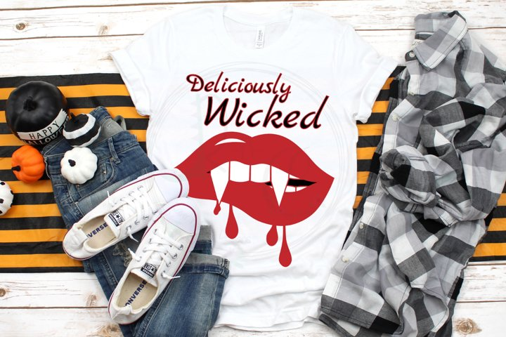 Deliciously Wicked SVG