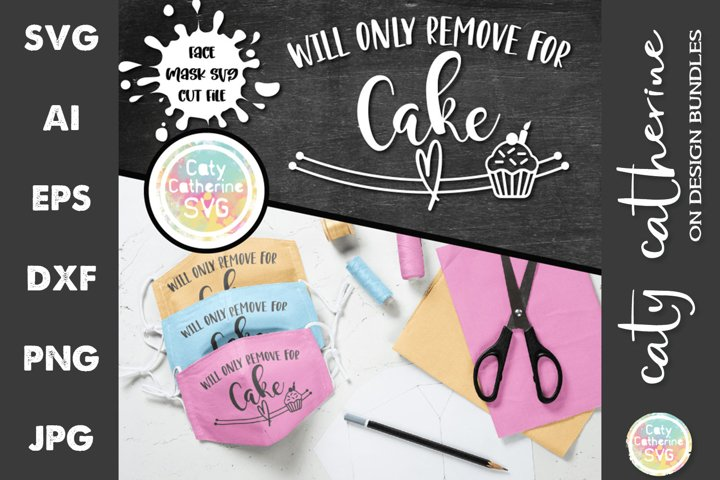 Will Only Remove For Cake Face Mask Bundle SVG Cut Files