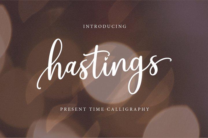 Hastings Script