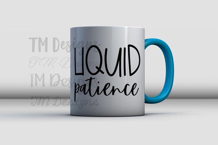 Liquid Patience SVG