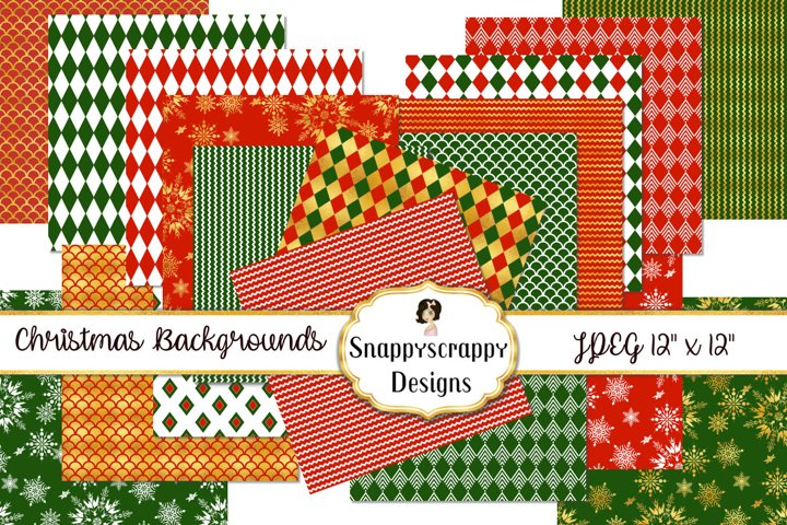 Christmas Background Papers