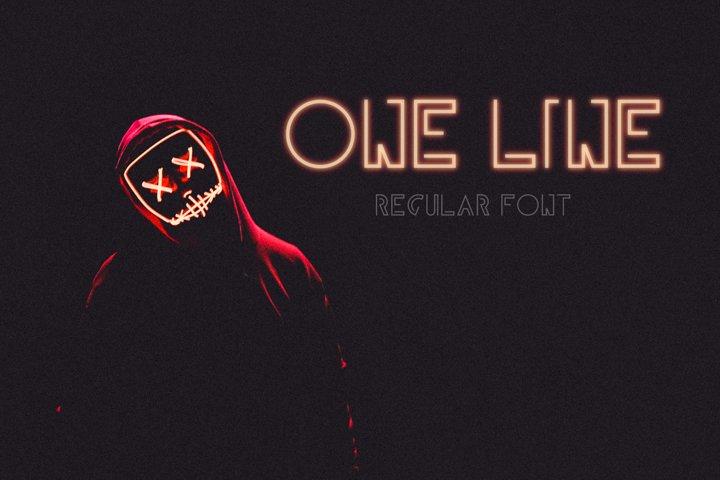 One Line Regular
