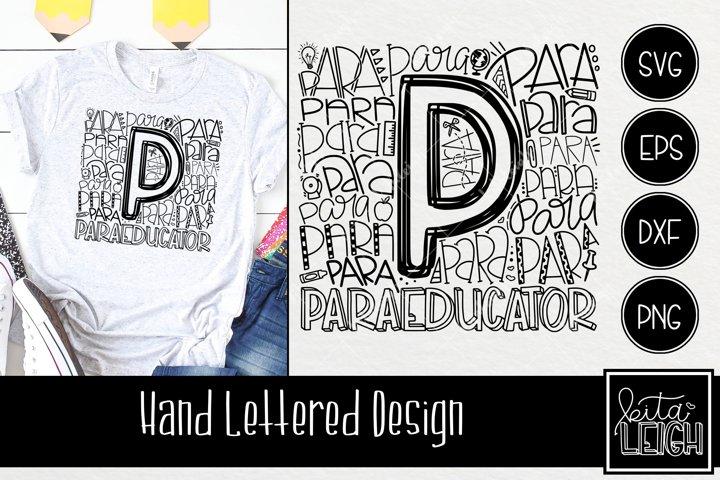 Paraeducator Typography
