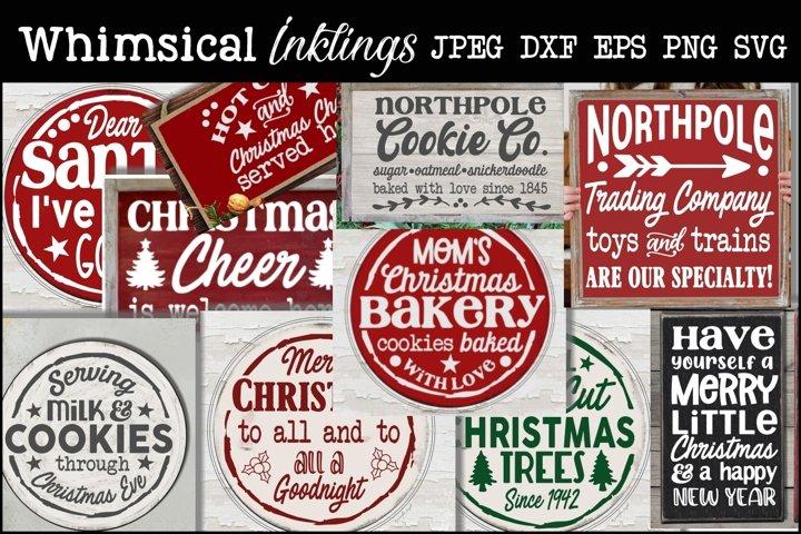 Christmas Cheer 2 SVG Bundle