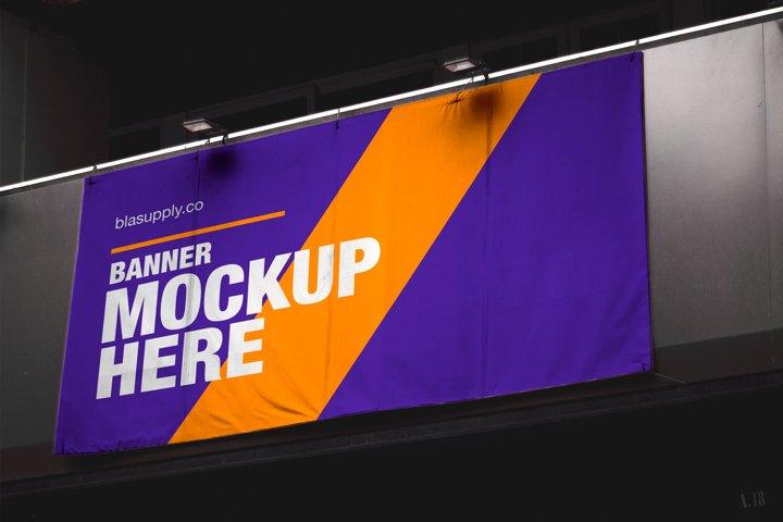 Outdoor Banner Mockup