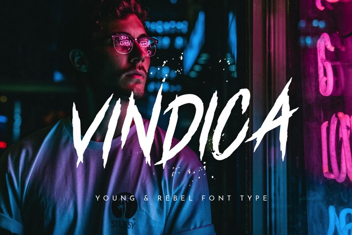 Vindica - Rebel Font