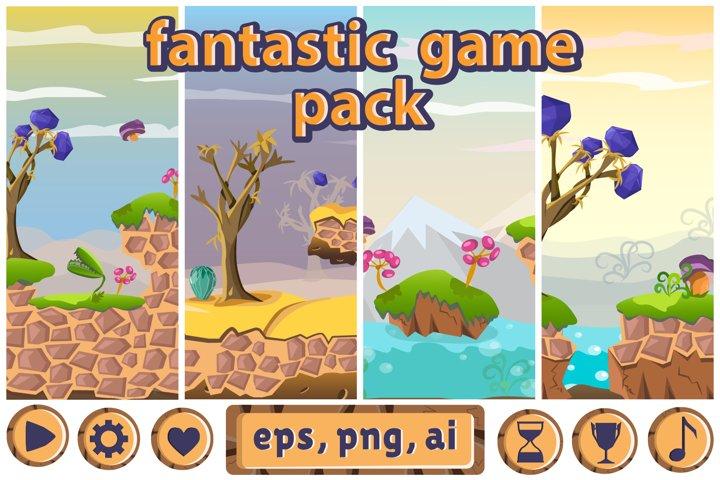 2d fantastic game pack