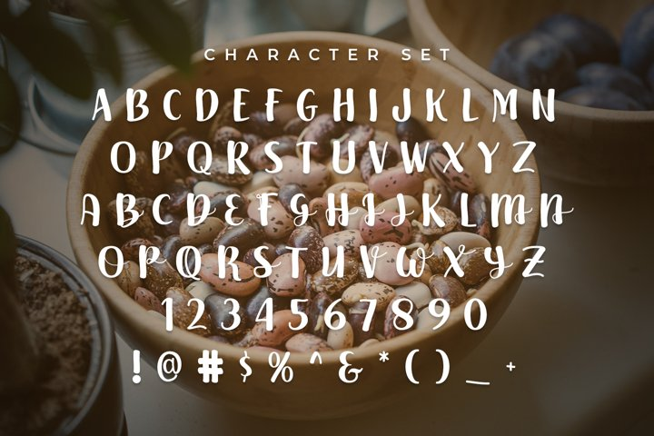 Beans - Free Font of The Week Design1