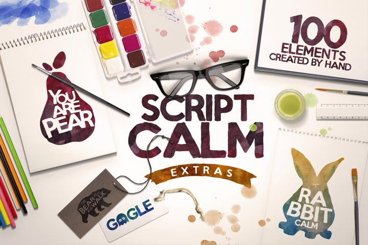 Script Calm  100 Elements  Bonus