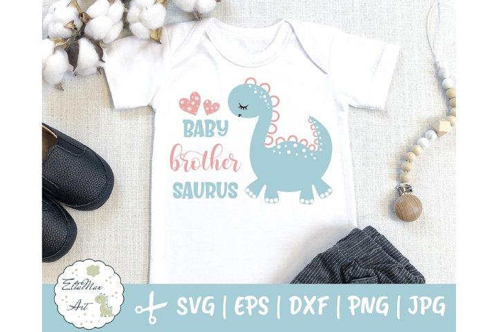 Baby brother saurus SVG, Dinosaur svg, Baby brother Svg,