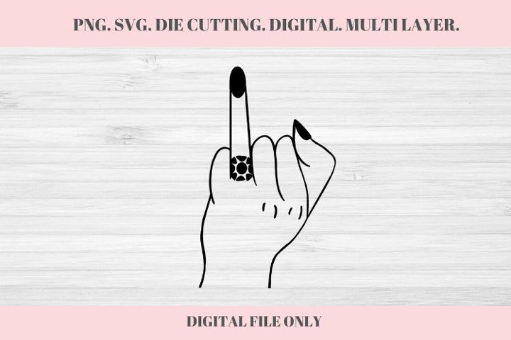 Wedding Ringer Finger, Wedding SVG, Ring Finger, Engaged