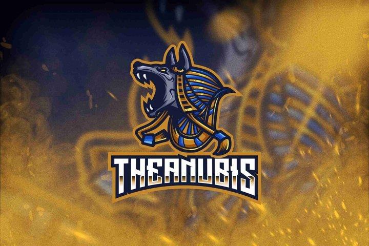 The Anubis Esport Logo Template