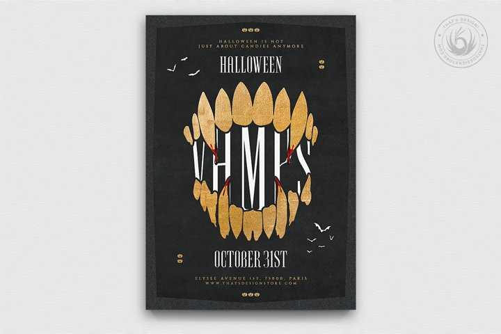 Halloween Flyer Template V28