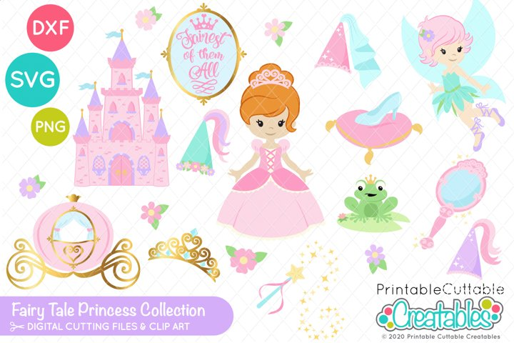 Fairy Tale Princess SVG | DXF | Clipart Collection