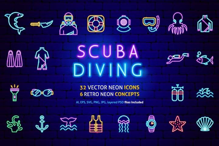Diving Neon