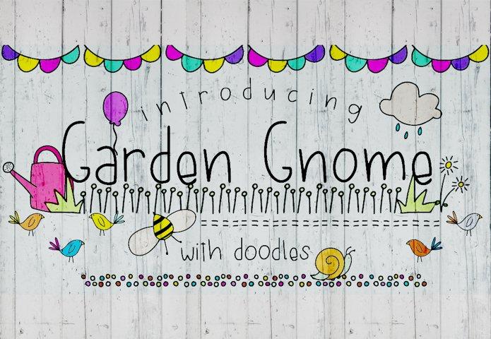 Garden Gnome Font Duo