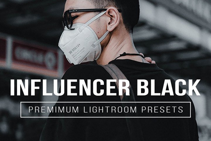 BLACK Lightroom Mobile and Desktop Presets Premium
