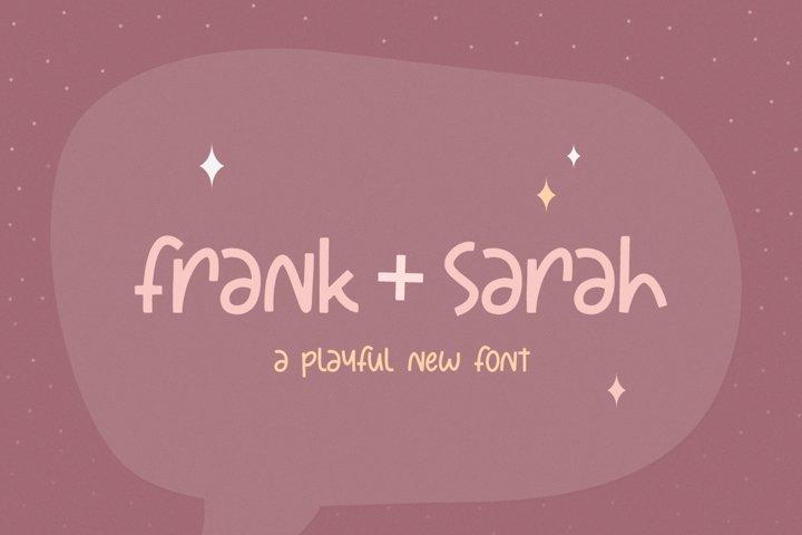 Frank and Sarah Font